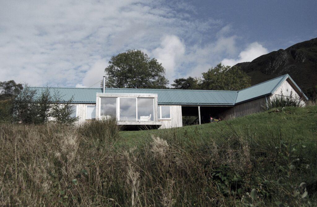 Resonant Architecture Zero Carbon Bothy view to north