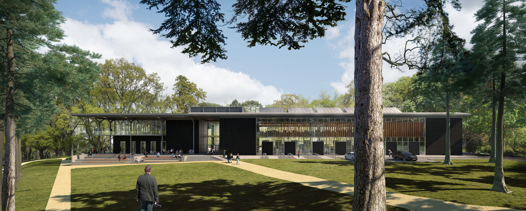 Resonant Architecture / BGS Architects Oxford Brookes faculty building